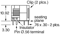 TRANSFORMER 1.54MHZ BALANCE - S10951 Image